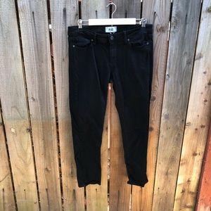 Paige Women's Black Skinny Jeans
